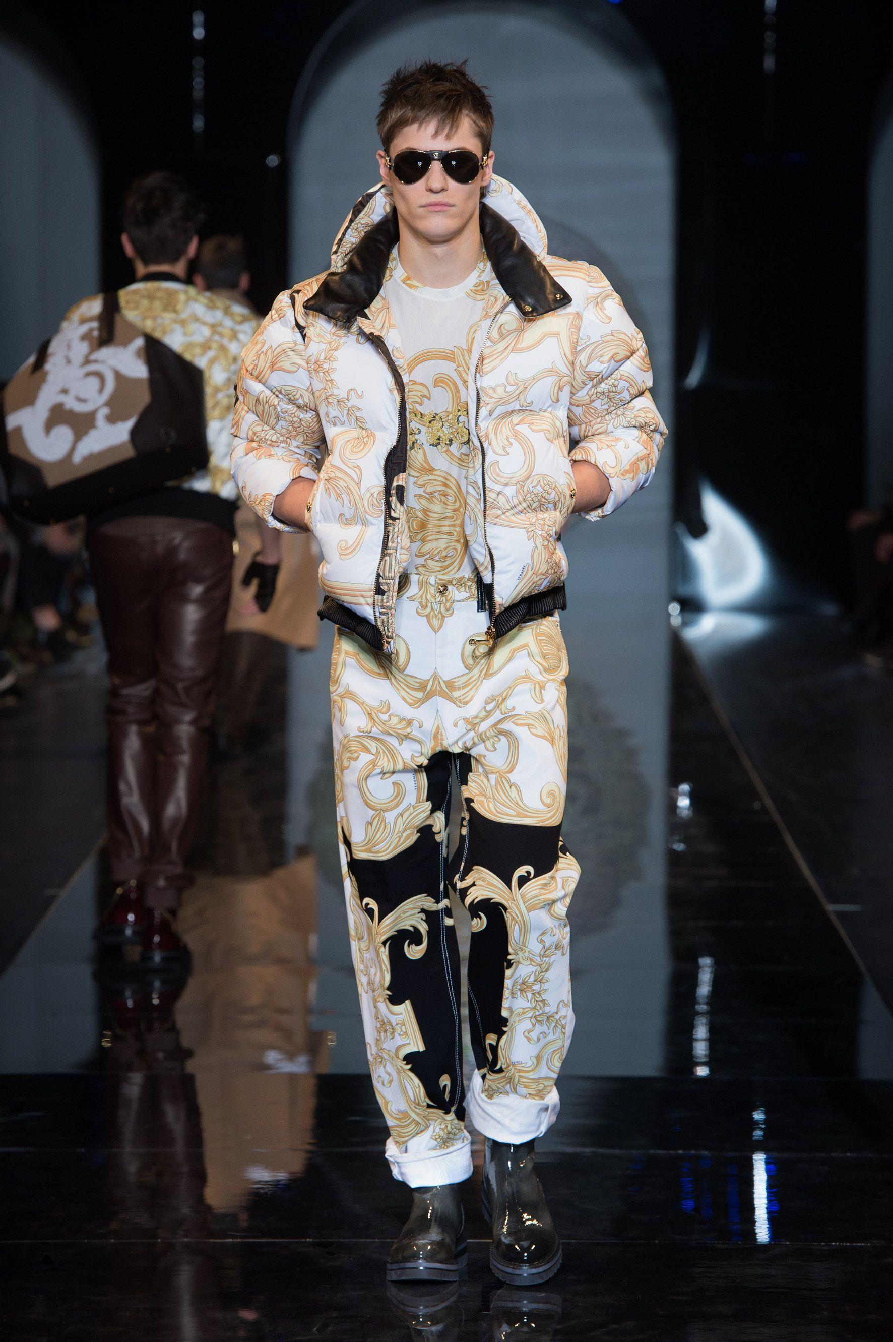 Versace Men 2015 Spring Summer: Versace Men's Fall Winter 2013