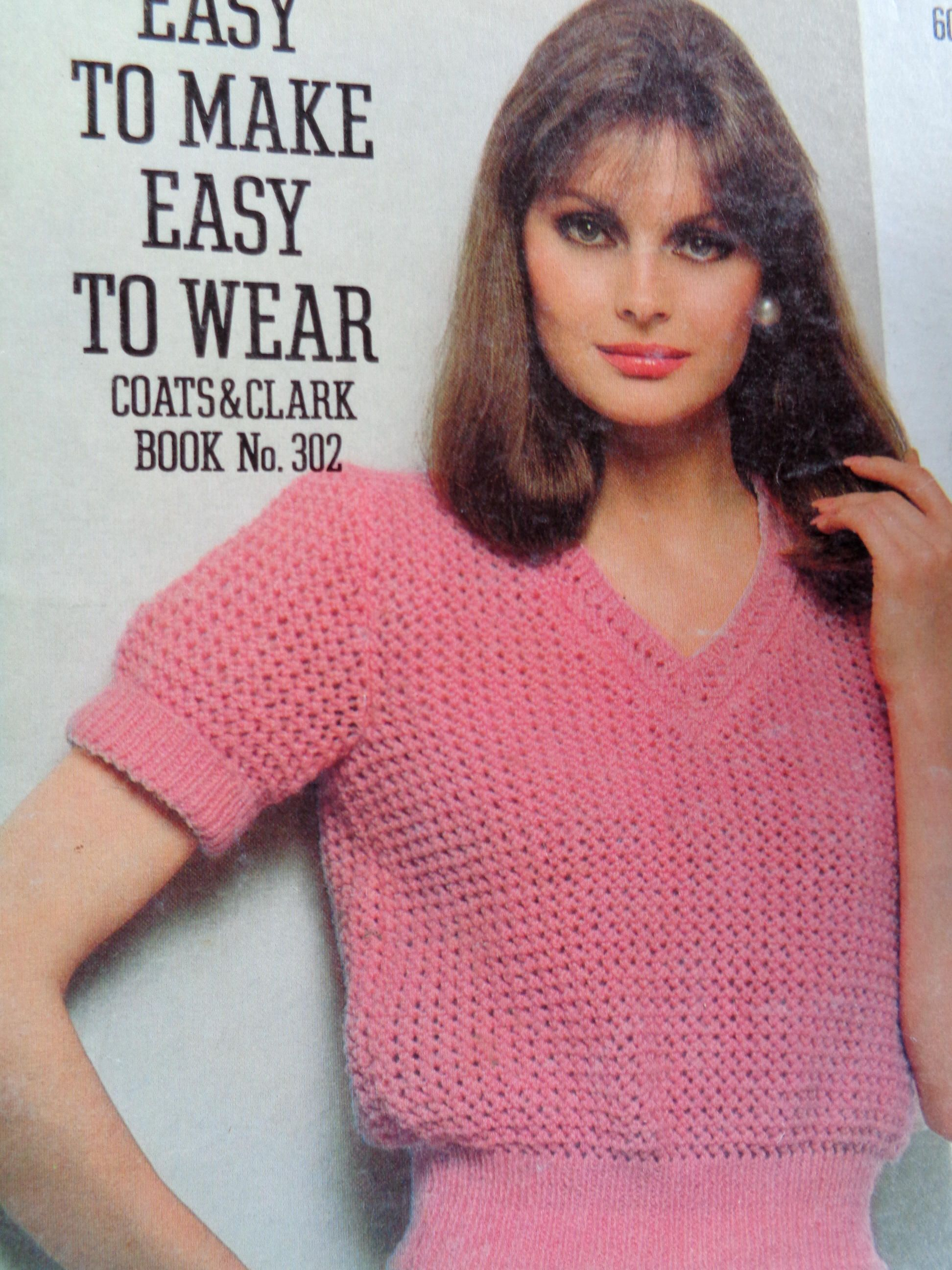 Crochet pattern Knitting pattern Easy To Make Easy to Wear Book No ...