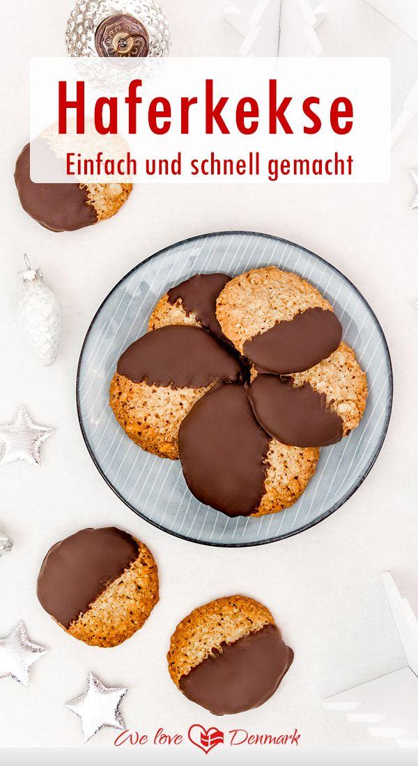 Leckere Haferkekse – Einfach und schnell gemacht! #rezepte #kekse