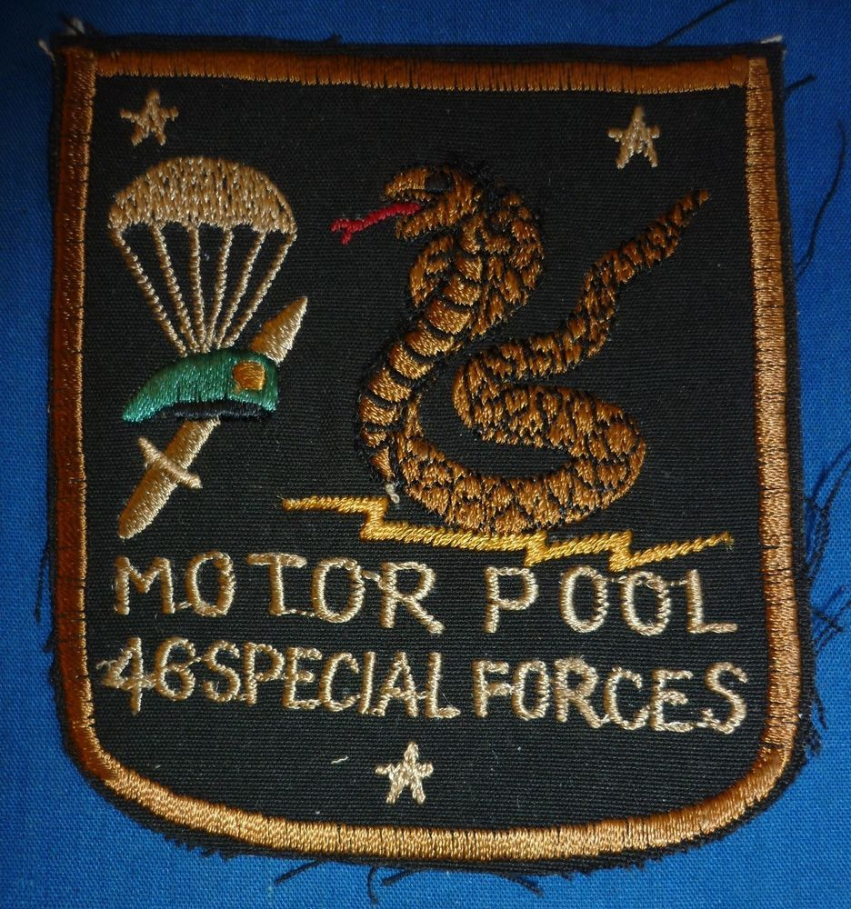 Details about Vietnam War US Army 46th SPECIAL FORCES MOTOR