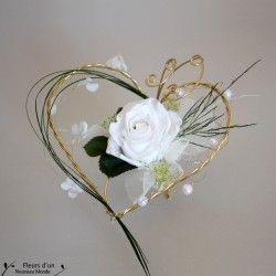 Un porte alliance original r alis artisanalement en fleur for Porte alliance original
