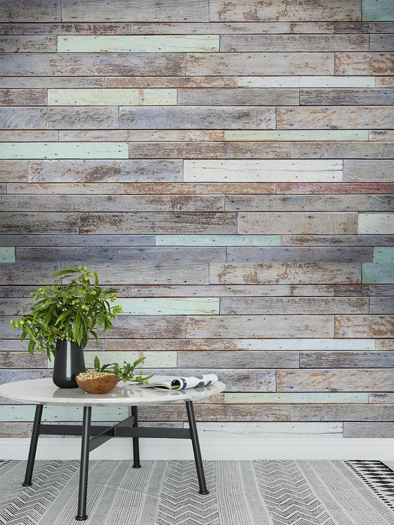 Peel And Stick Wallpaper Removable Wallpaper Self Adhesive Etsy Peel And Stick Wallpaper Rustic Wallpaper Vinyl Wallpaper