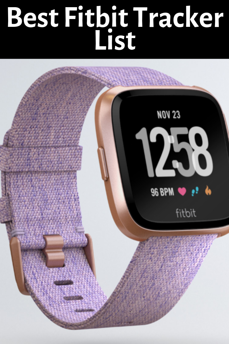 Best Fitbit Tracker 2020 List Which Is Best For You