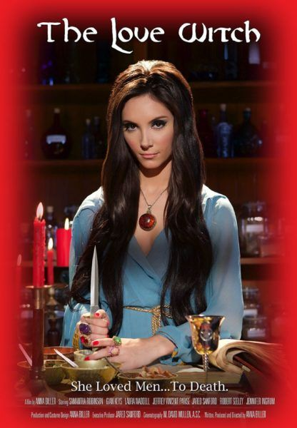 """""""Elaine, a beautiful young witch, is determined to find a man to love her. In her gothic Victorian apartment she makes spells and potions, and then picks up men and seduces them. However, her spells work too well, leaving her with a string of hapless victims. When she finally meets the man of her dreams, her desperation to be loved will drive her to the brink of insanity and murder."""