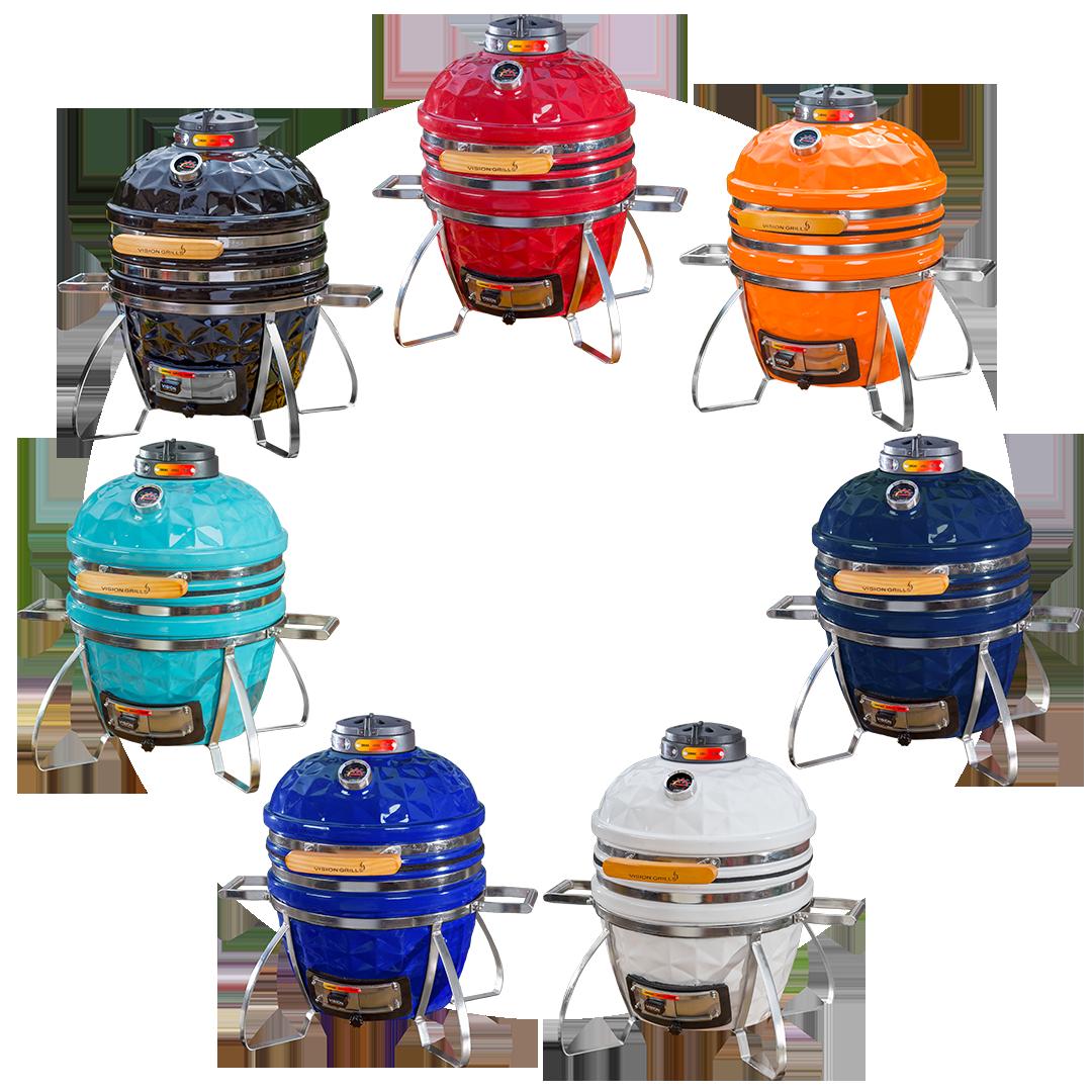 Kamado Grills | Vison Grills | Kamado grill, Diamond cuts