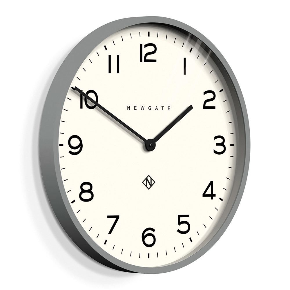 Large Modern Wall Clock With A Clean Dial And Minimalist Baton Hands Transform Vacant Wall Space With The Newgate Echo Number In 2020 Wall Clock Newgate Clocks Clock