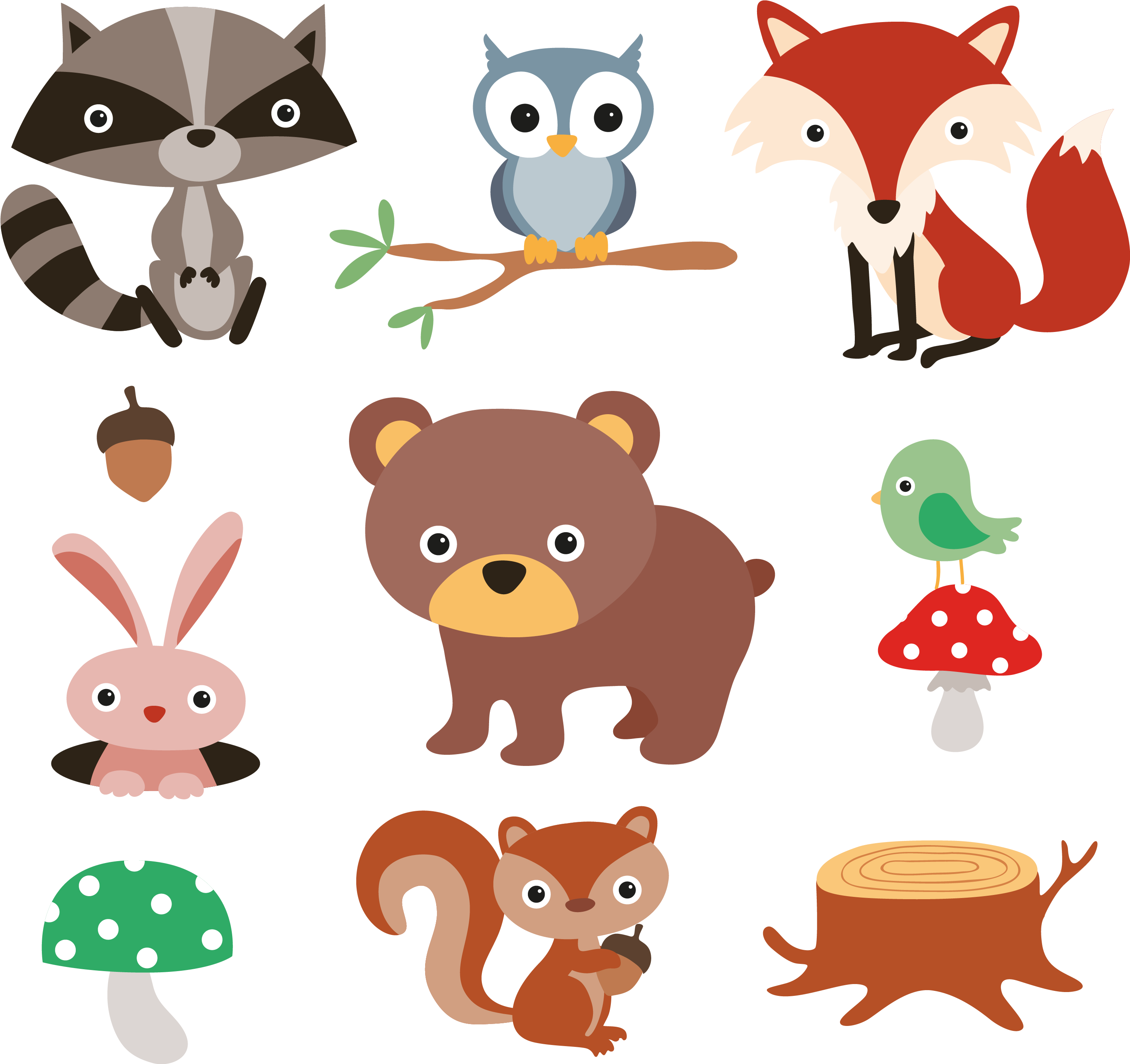 Pin by L T on Animals | Animal clipart, Forest animals, Animal categories