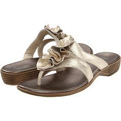 8057b0673ab Clarks - Dusk Azore. These go with everything and look better than a bare  leather sandal.
