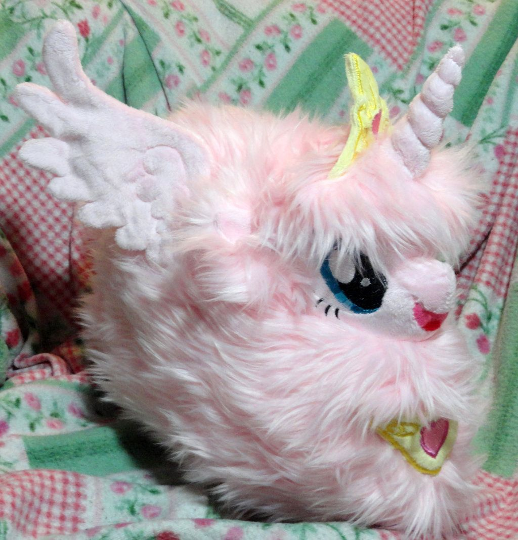 My Puffed Self As Toy Chica: Princess Fluffle Puff By Cryptic