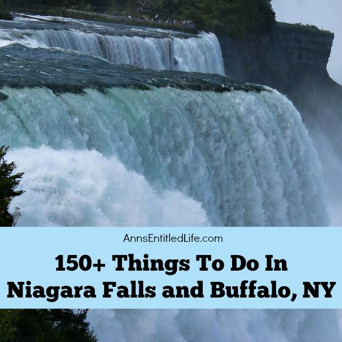 150 things to do in niagara falls and buffalo ny for Whats there to do in new york