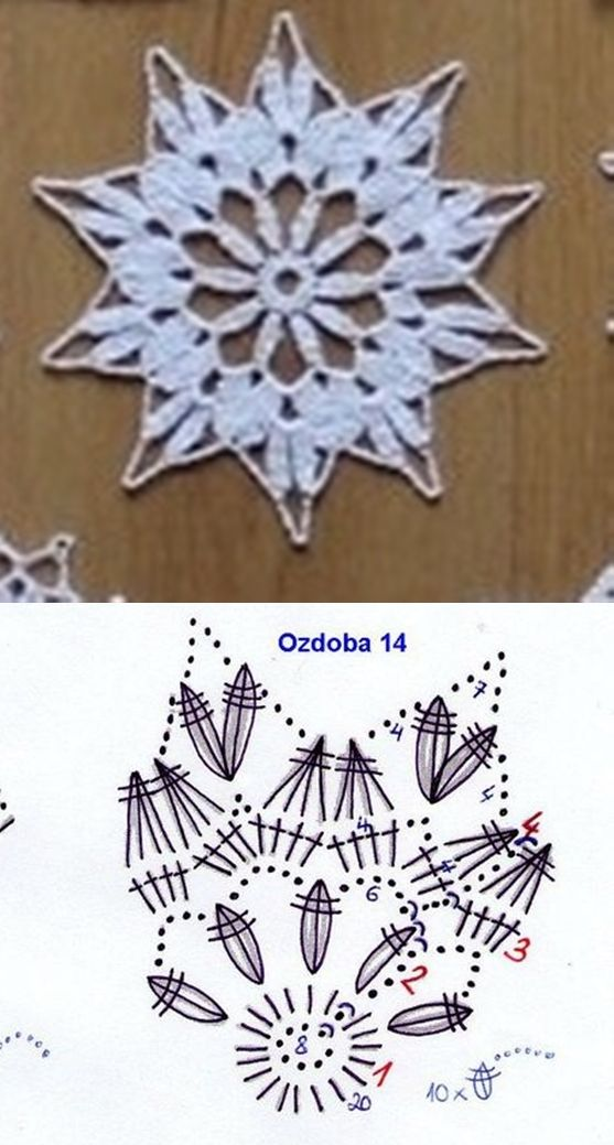 snowflake 640 | Schneeflocke | Pinterest | Schneeflocken, Häkeln und ...