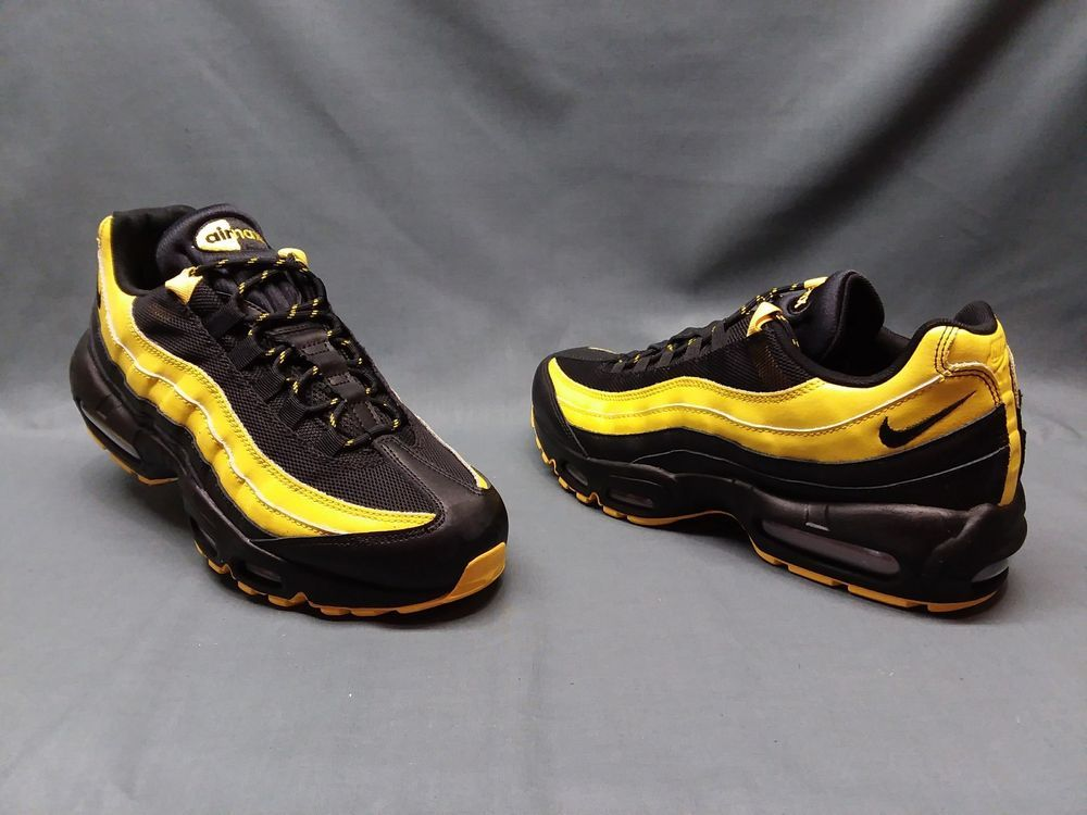 c11b2e75a6f71b Nike Men s Air Max 95 Frequency Pack Sneakers Black Yellow Size 9.5 NWOB!   fashion  clothing  shoes  accessories  mensshoes  athleticshoes (ebay link)