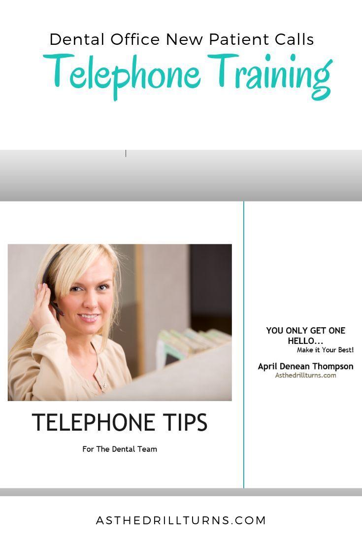 Dental office new patient calls dental dental office