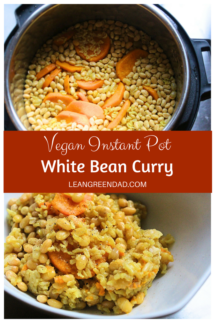 Instant Pot White Bean Curry