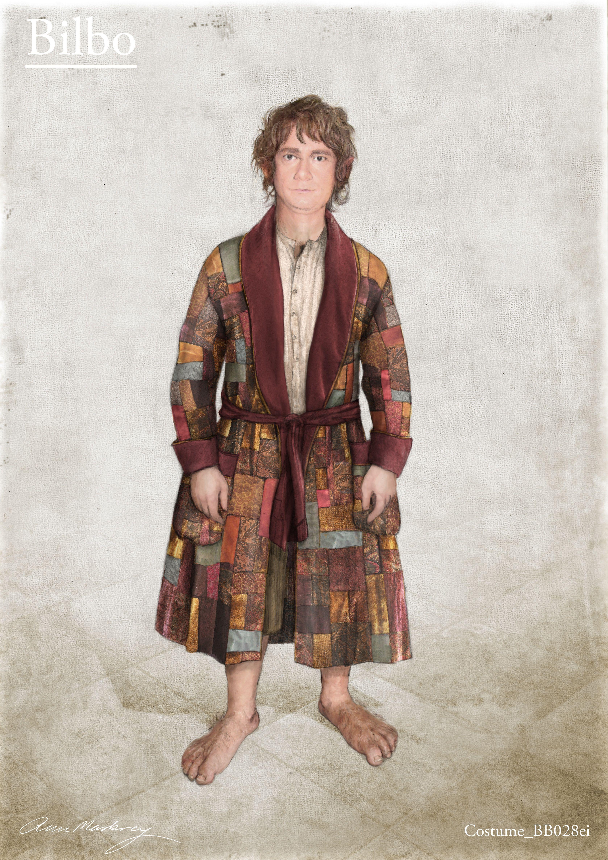 Costume design by Ann Maskrey: Bilbos dressing-gown: An Unexpected ...