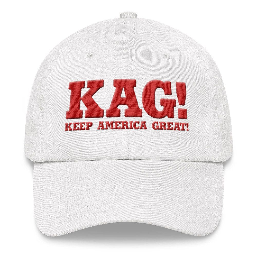 9882a4d6fd925 getKAGswag.com   Embroidered KAG! Keep America Great! 100% Cooton Twill  Baseball