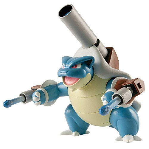 Deluxe Action  BLASTOISE Pokemon 5 Figure Multi Pack Wicked Cool Toys New