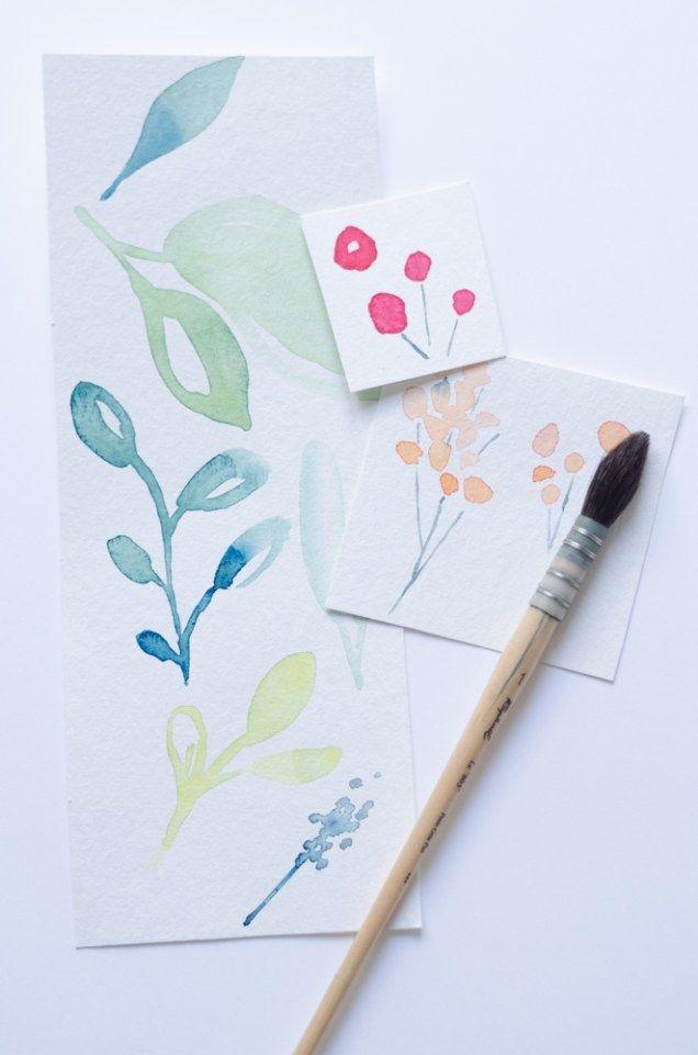 Apprendre A Peindre A L Aquarelle De Facon Moderne Et Coloree