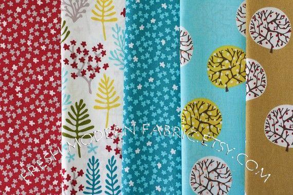 I like these fabrics a lot.