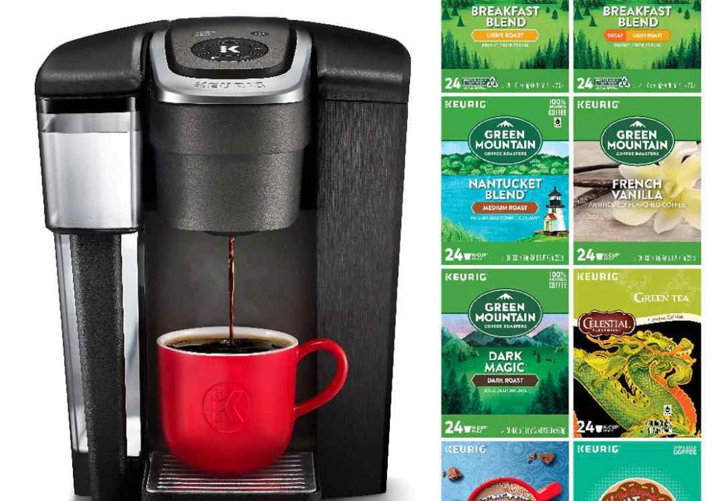 Keurig K1500 Single Serve Commercial Coffee Maker Bundle