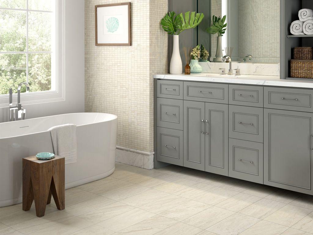 Beautiful clean bathroom mosaics floor tile versailles by beautiful clean bathroom mosaics floor tile versailles by interceramic dailygadgetfo Images