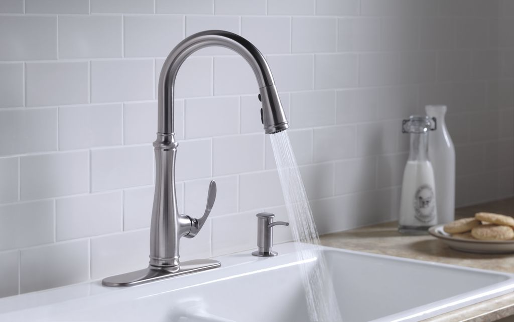 K 560 Bellera Single Handle Kitchen Sink Faucet Kohler Kitchen Faucet Kitchen Sink Faucets Faucet