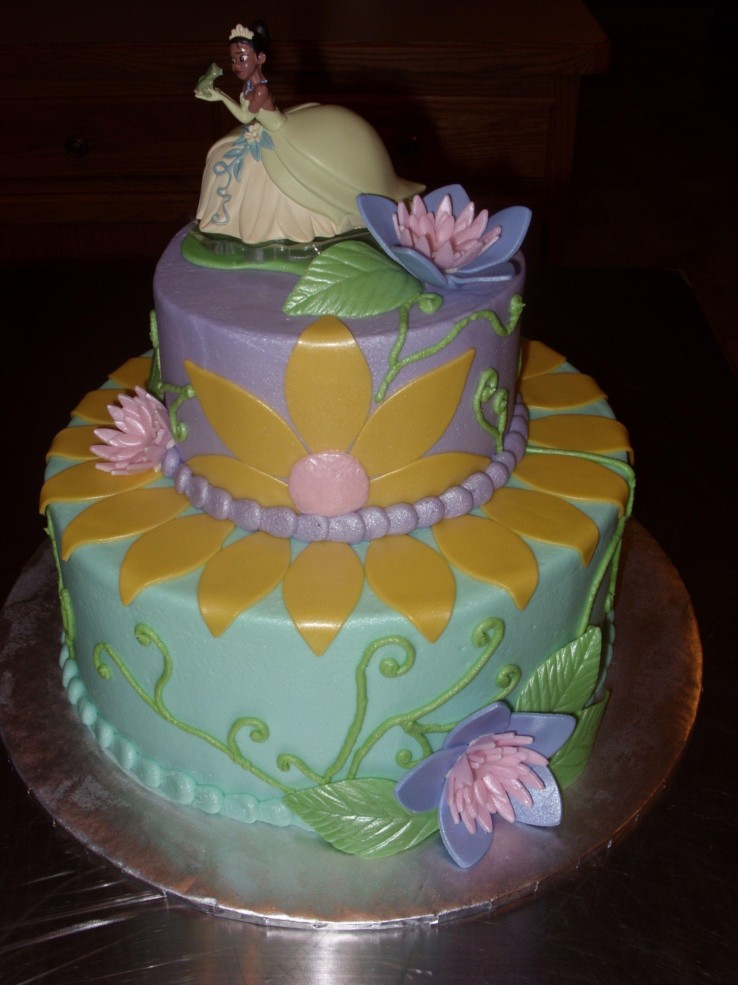 Princess and the frog cake birthday cake kids frog