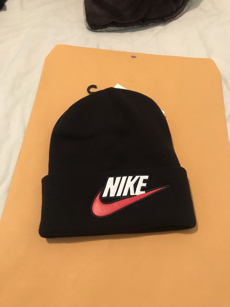 6685111fbc4d06 Supreme Nike Beanie Black IN HAND READY TO SHIP FW18 SOLD OUT! #fashion # clothing #shoes #accessories #mensaccessories #hats (ebay link)
