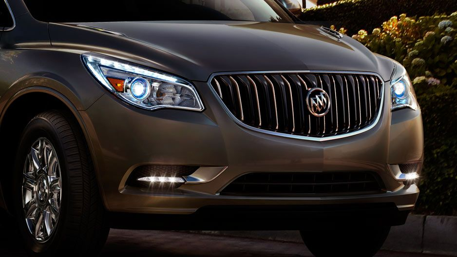 Enclave Luxury Large Crossover Suv With Signature Waterfall