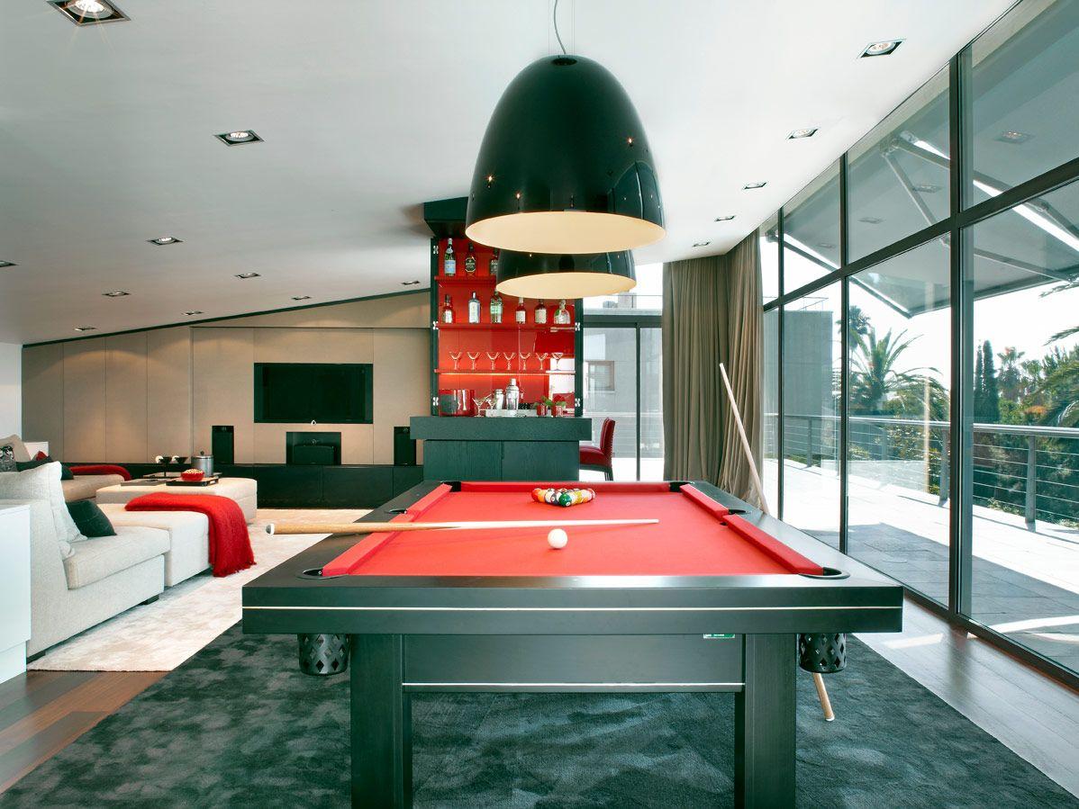 Molins spain sala de juegos billares y interiores - Decoradores interioristas barcelona ...