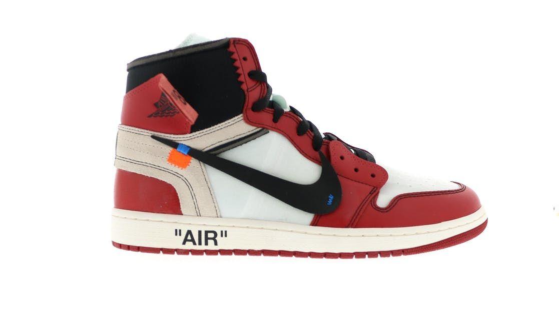off white jordan 1 red price