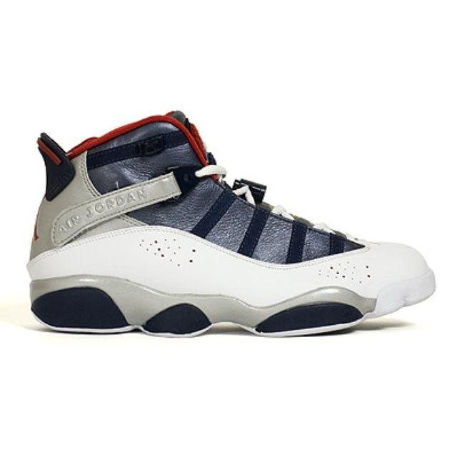 5d0381dbdf Jordan Air Jordan 6 Rings Olympic, currently playing ball on these kicks