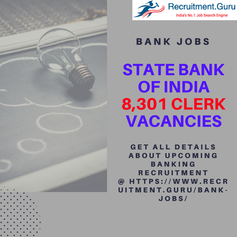 Bank Jobs Latest news, Apply for Various Bank Recruitment in SBI