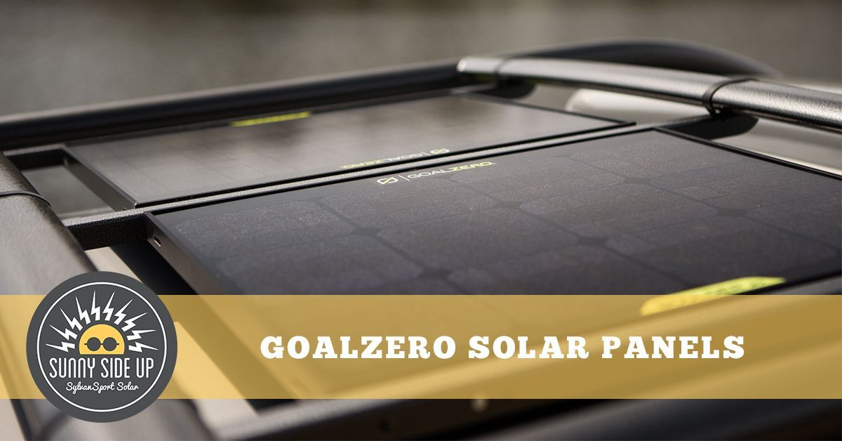2 Goalzero Boulder 30 Panels Are Able To Charge The Yeti 400 While Set Up At Camp Or Traveling Down The Road The Panel Solar Kit Solar Power Kits Solar Panels