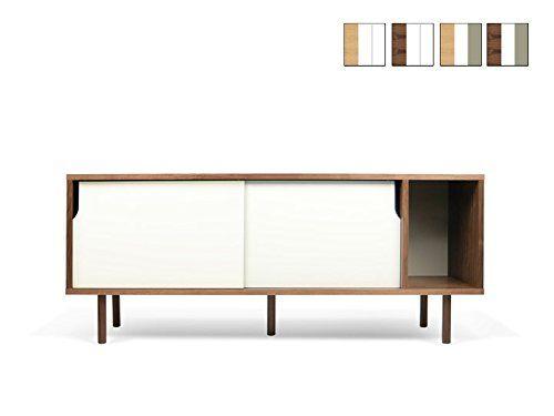 DANN-002-Sideboard-165-Temahome-FarbkombinationEiche-Front-Matt - wohnzimmer eiche grau