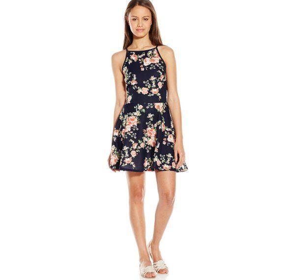 Short sleeve summer dresses for juniors