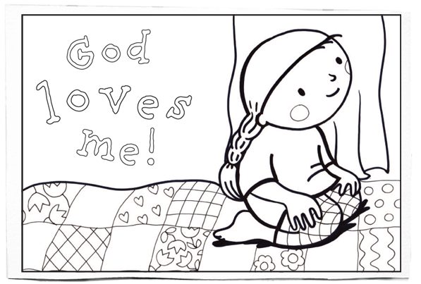God Loves Me By Susie Poole Perfect Resource To