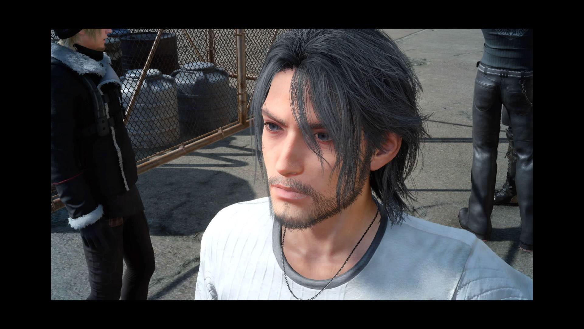 Old Noctis Ffxv: Old Noctis Portrait, Final Fantasy XV