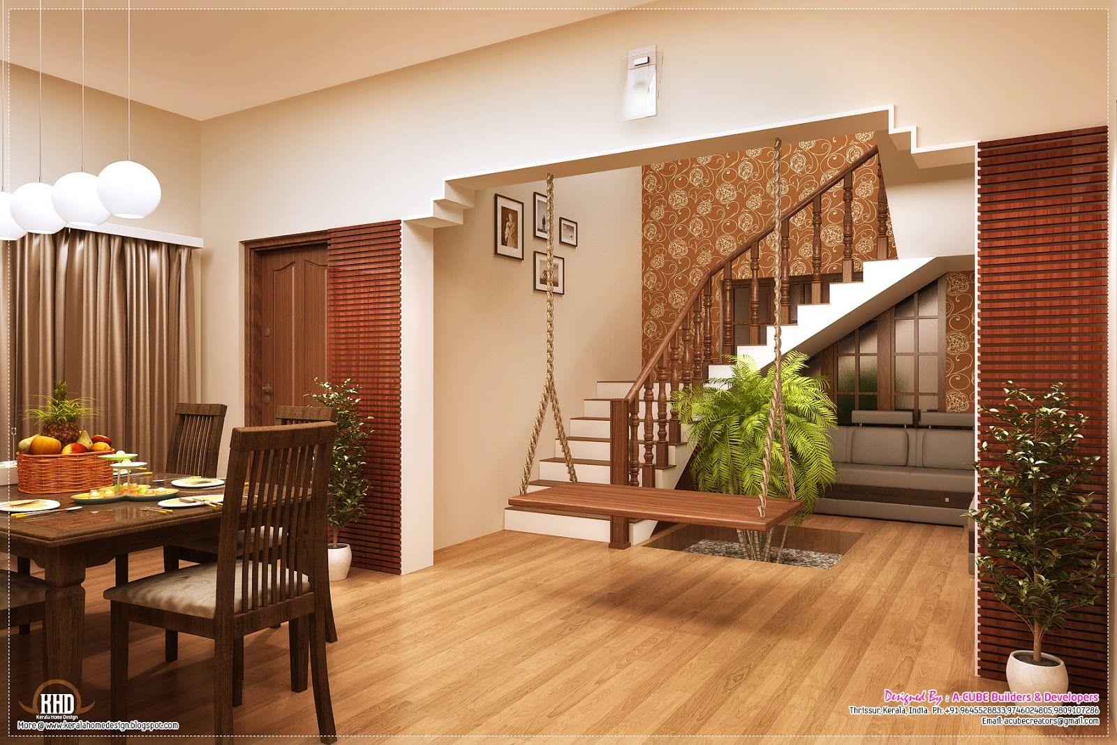 Best Simple Swing Stairs In Living Room Dining Room 400 x 300