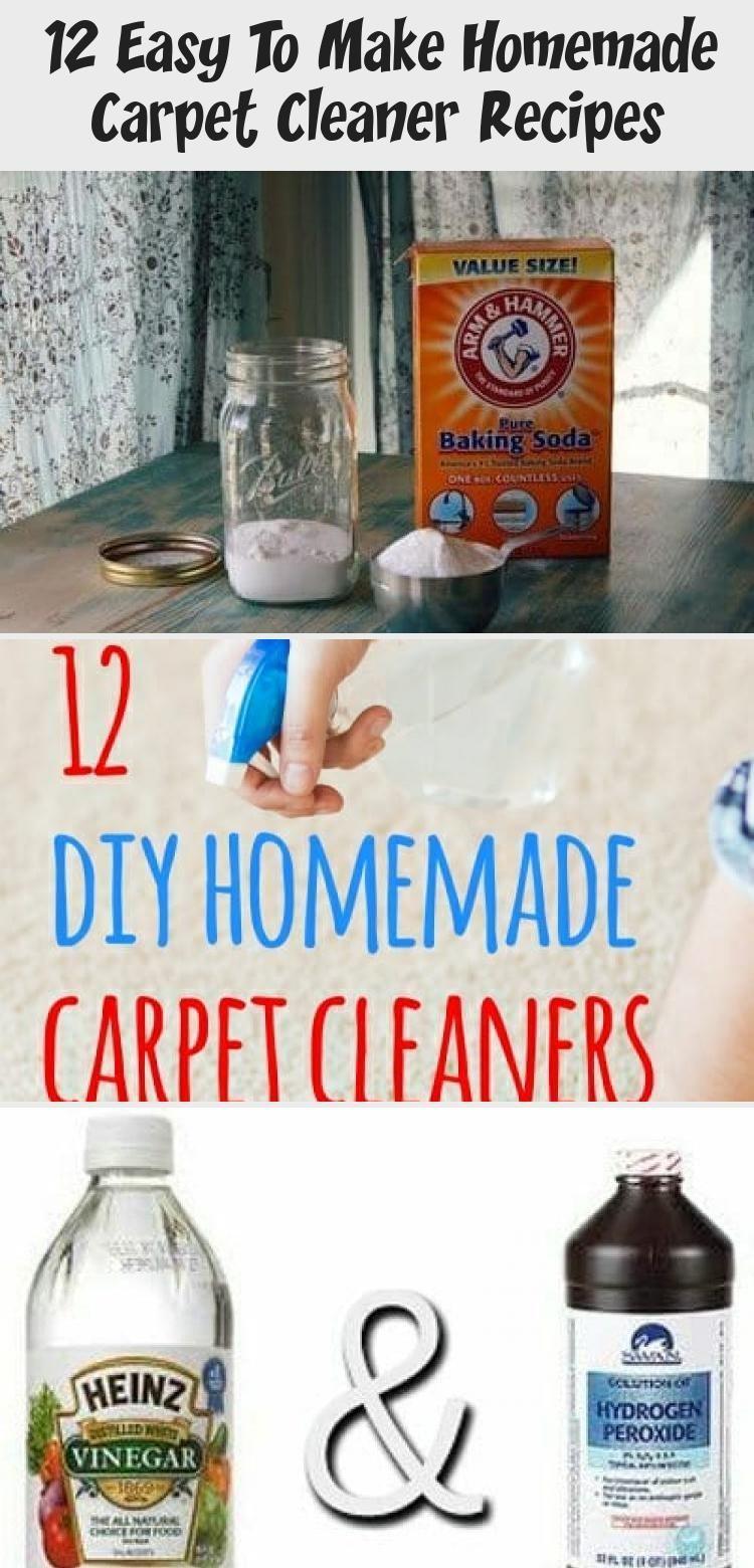 12 Einfach Zu Machen Hausgemachte Teppichreiniger Rezepte Carpetcleanerformachine Carpet In 2020 Carpet Cleaner Homemade Cleaner Recipes Homemade Cleaning Solutions