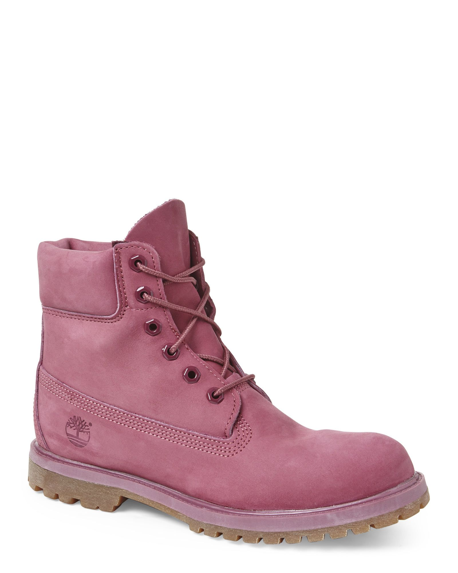 """TIMBERLAND Pink Earthkeepers 6"""" Premium Boots"""