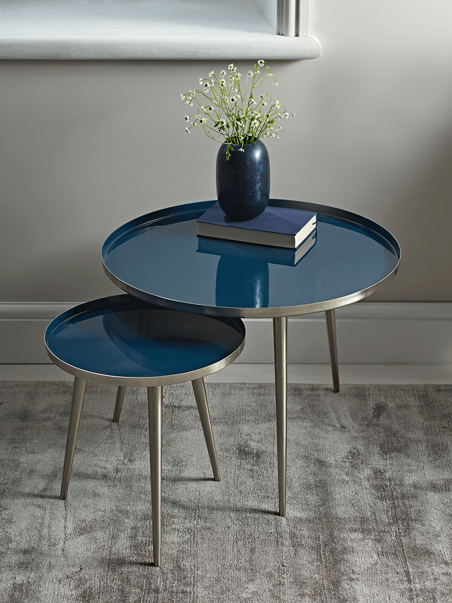 Occasional Tables Small Round Coffee Nested Side