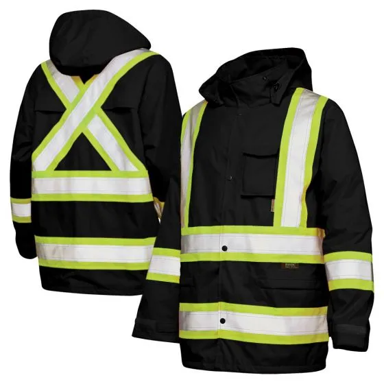 High Visibility Heated Jacket Kit