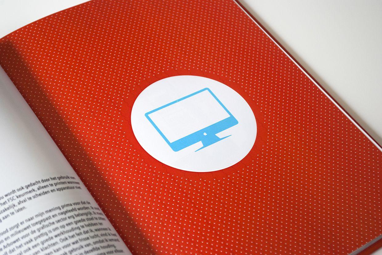 Internship report, page designs, illustrations (Viesrood).