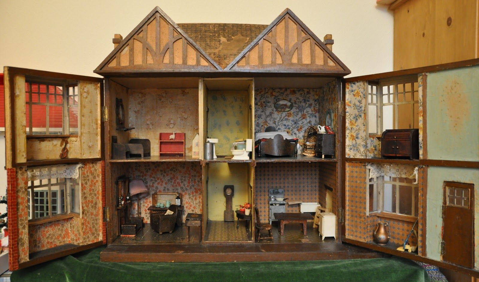 Dollshouse Days The Inside Of The House Babies Pinterest - Dolls house interior