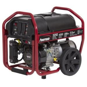 powermate 3250watt gasoline powered manual start portable at the home depot
