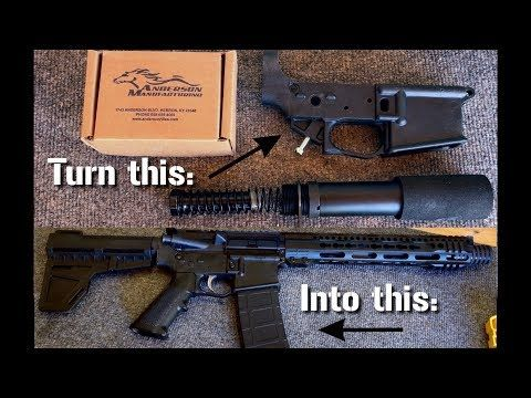 Ar 15 Detailed Step By Step Assembly Build Instructions Hd