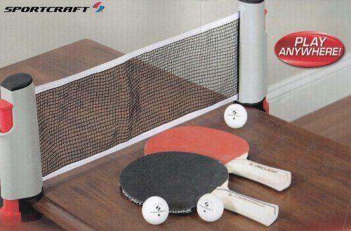 Sportcraft Anywhere Table Tennis Set by Sportcraft, http://www ...