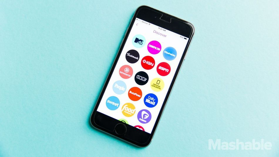 Snapchat will soon redesign its Discover section, reports