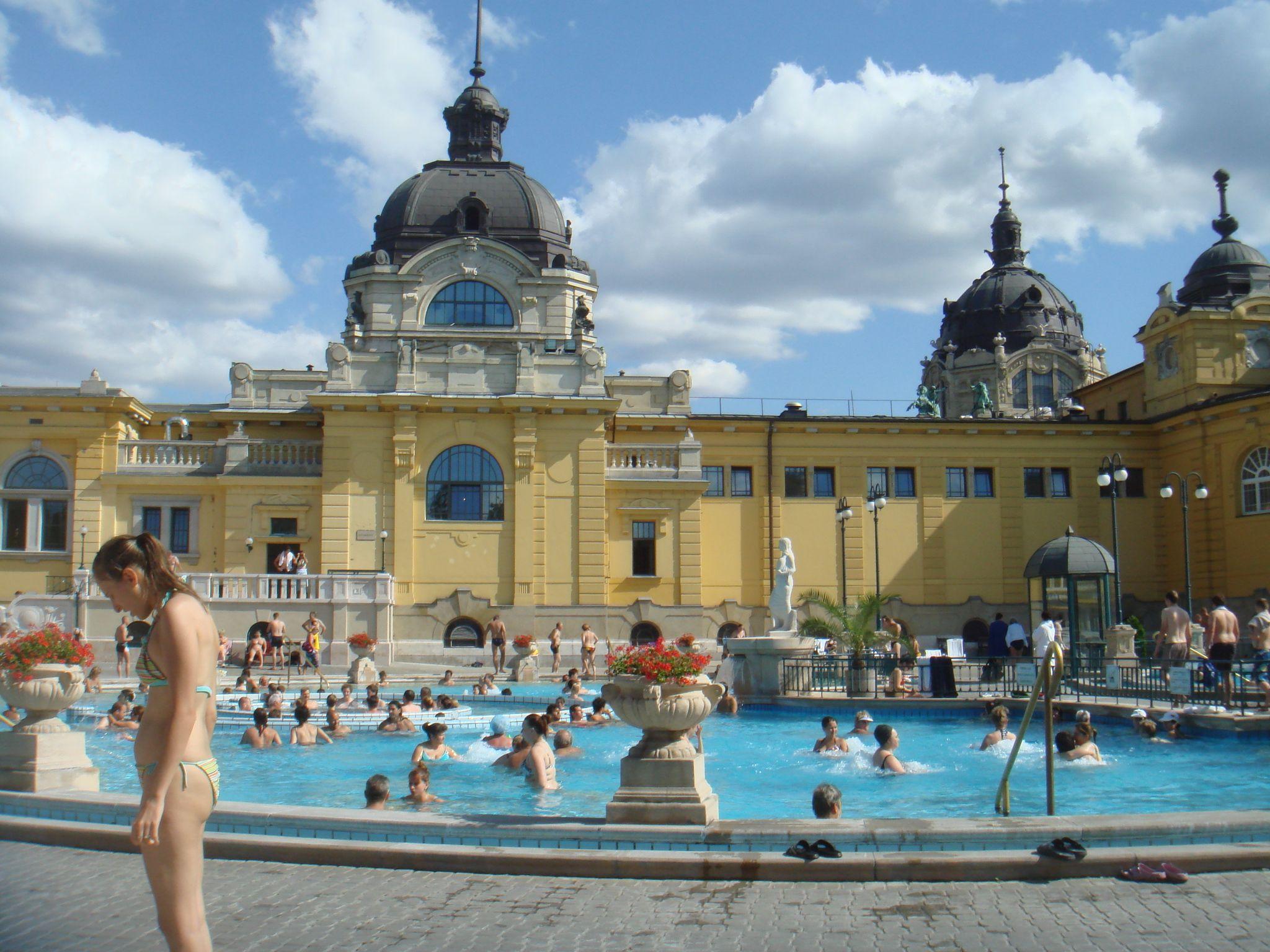 Széchenyi bath, Budapest, Hungary